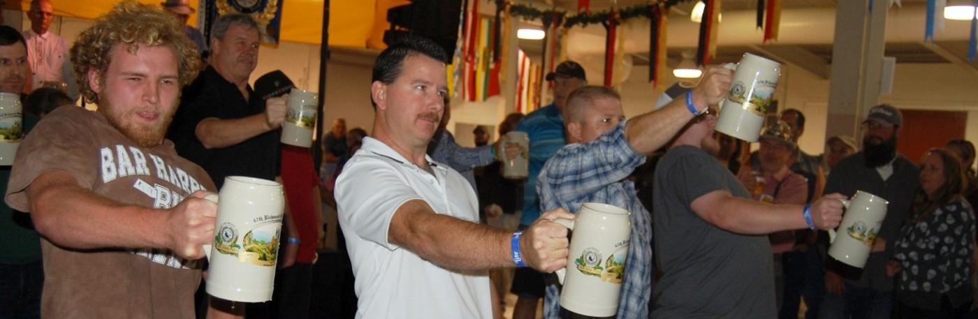 Beer Stein Hoisting